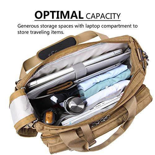 Lifewit 17'' Men's Military Laptop Messenger Bag Multifunction Tactical Briefcase Computer Shoulder Handbags by Lifewit (Image #4)