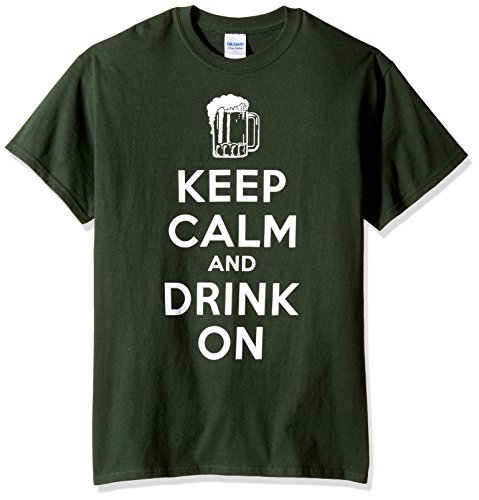 St. Patrick's Day Keep Calm and Drink On Herren Grün T-Shirt