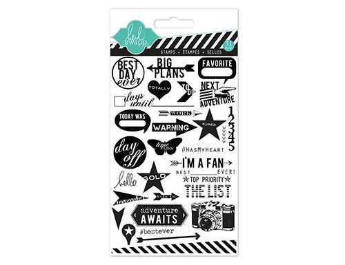Heidi Swapp Clear Stamp Best Day Ever