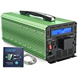 EDECOA 3000W Power Inverter Modified Sine Wave DC 12V to AC 110V Converter with LCD Display and Remote Controller