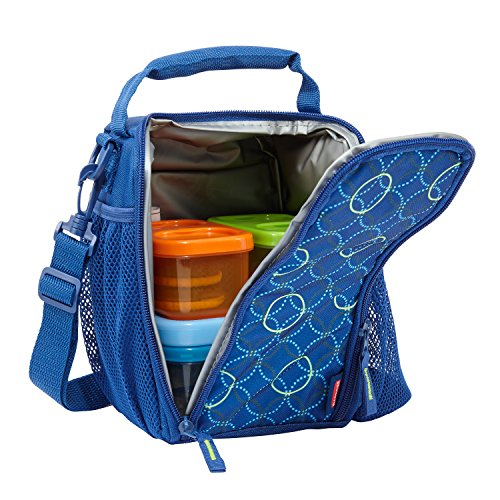 Kids Lunch Box (Rubbermaid LunchBlox Small Lunch Bag, Blue)