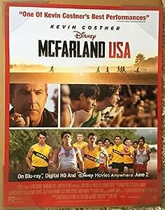 Amazon.com : MCFARLAND USA MOVIE POSTER 1 Sided ORIGINAL