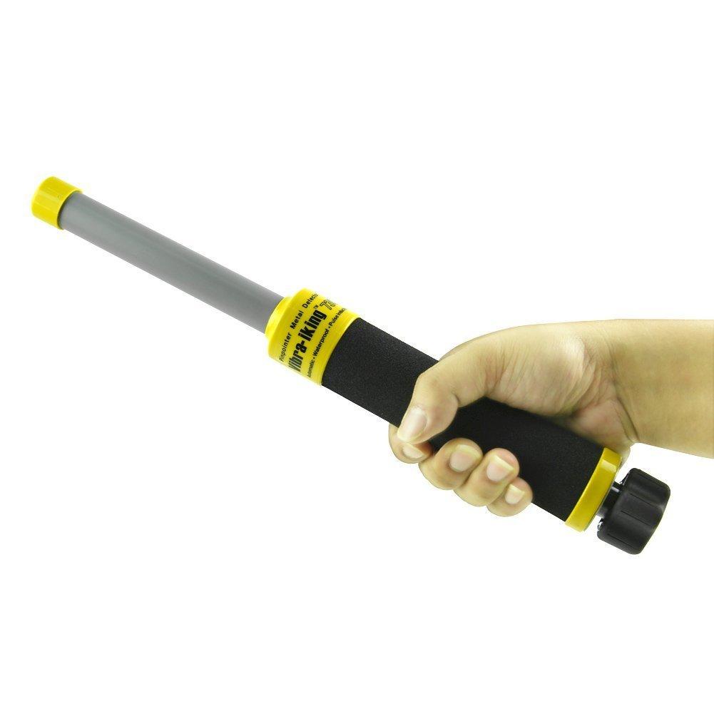 Emperador de Gadgets® Vibra-King 730 Detector de Metales bajo el Agua con vibración e indicador de detección LED - Escáner de Metal para inducción de Pulso ...