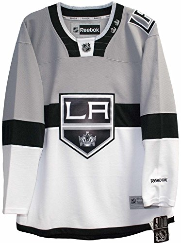 Men's Los Angeles Kings Reebok White 2015 Stadium Series Premier Jersey (Small) - Kings White Jersey