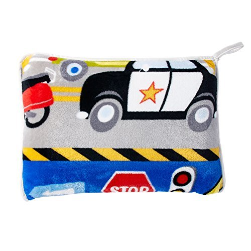 - Dream Factory Trains and Trucks Tractor Blanket, 50