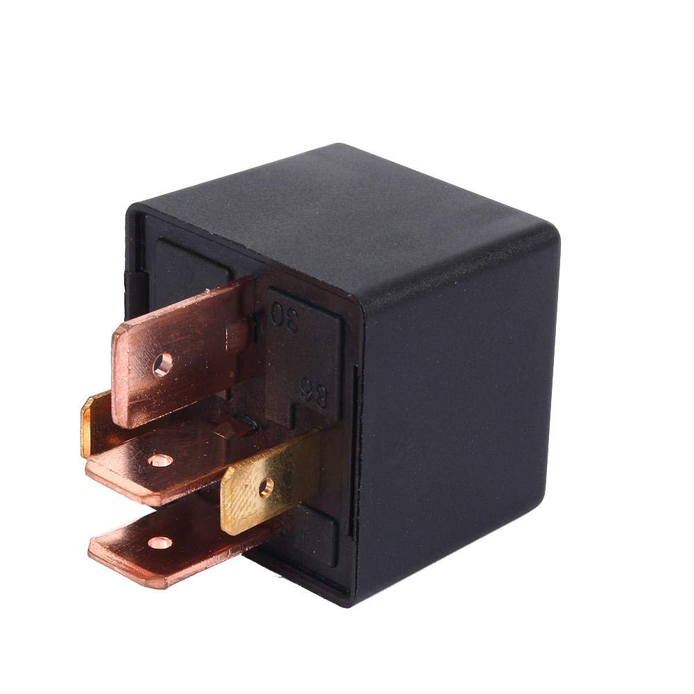 DC 12V Relay 80A AMP Split Charge 5 Pin Car Relay for Automobile Vehicle Van Boat Truck Durable Automobile Relay