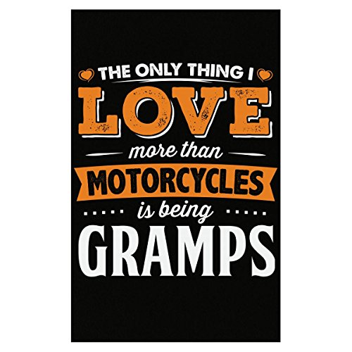 My Family Tee Love Being Gramps More Than Motorcycles Biker Gift - Poster
