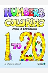 Numbers Coloring Ants and Ladybugs: Series 1 (Volume 1) Paperback