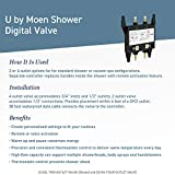 Moen S3102 Bathroom U Digital Shower Thermostatic