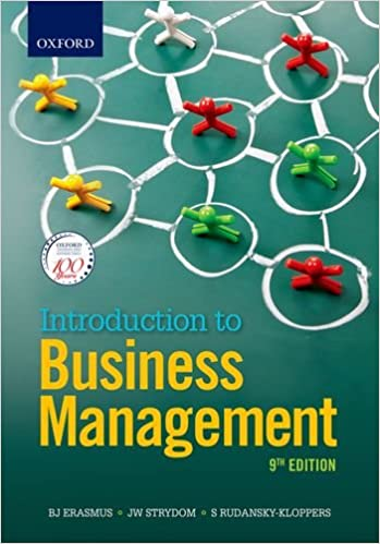 Introduction to business management s rudansky kloppers b erasmus introduction to business management 9th edition fandeluxe Gallery