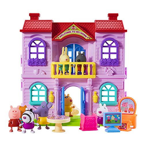 Peppa Pig Best friend's and his luxurious house