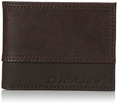 Dickies Men's 2tone Slimfold Wallet With Embossed Logo