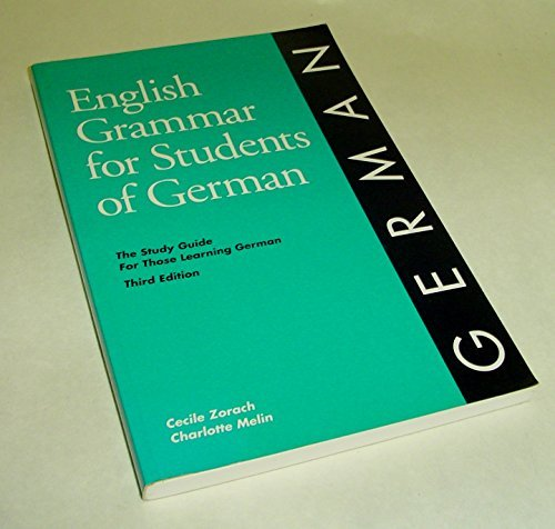 english grammar for students of german pdf
