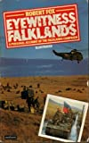Front cover for the book Eyewitness Falklands by Robert Fox