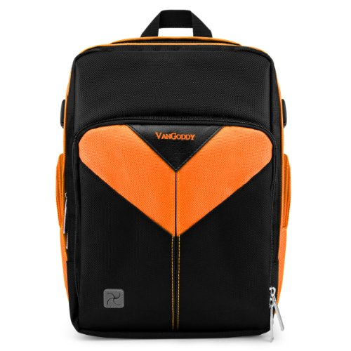 Multi-Compartment Compact Sparta DSLR BackPack Carrying Bag For DJI MAVIC Air/Pro Platnium[Orange]