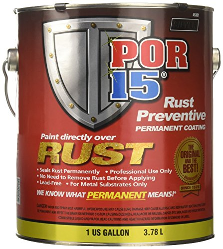 POR-15 45301 Rust Preventive Coating Silver Moisture Cure Primer, 128. Fluid_Ounces
