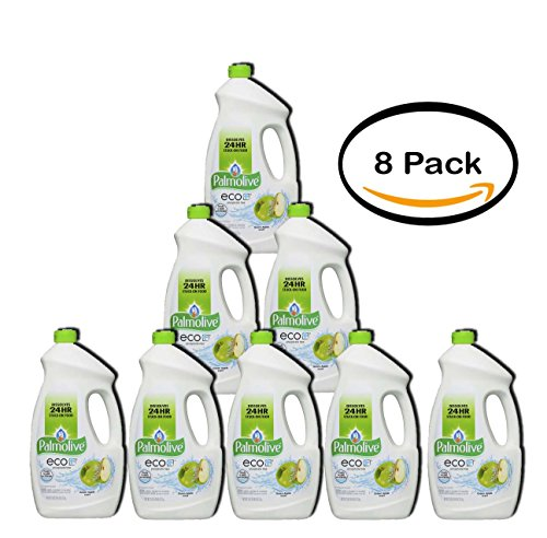 PACK OF 8 - Palmolive eco, Gel Dish Washer Detergent, Citrus Apple, 75 Fluid Ounce