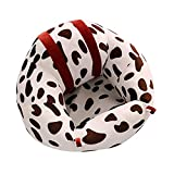 Baby Support Seat Sofa Toldder Infant Learn Sitting Sofa Chair Pillow Baby Safety Sofa Support Seat Cushion Cow Pattern Baby Plush Toys Gift Newborn Couch Bed Furniture Protector Plush Cushion Toys