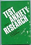 Advances in Test Anxiety Research, Van Der, 0898595177