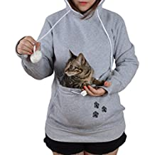 Jahurto Pet Holder Cat Dog Kangaroo Pouch Carriers Pullover