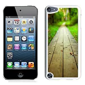 Fashionable Phone Case Wood Path in the Forest iPhone 5 Wallpaper in White.jpg