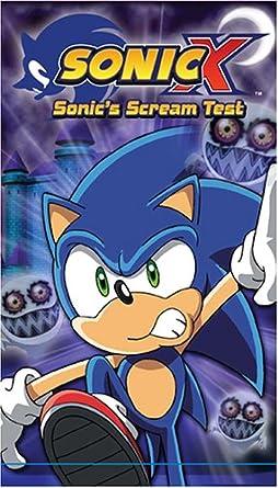 Amazon Com Sonic X 5 Sonic Scream Test Vhs Sonic X Movies Tv