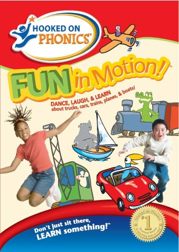 Hooked on Phonics: Fun in Motion (Fun Phonics Dvd)