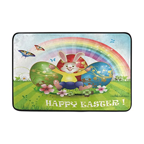 non slip polyester doormat cartoon