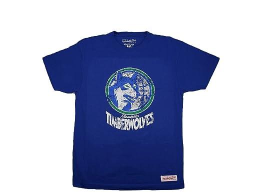 NBA - Minnesota Timberwolves Camiseta de fan Traditional - Baloncesto - Artículo - Azul, azul: Amazon.es: Deportes y aire libre