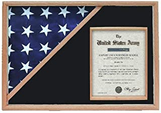 product image for Shadow Box for 5' x 9.5' Flag with 8.5 x 11 Document Holder
