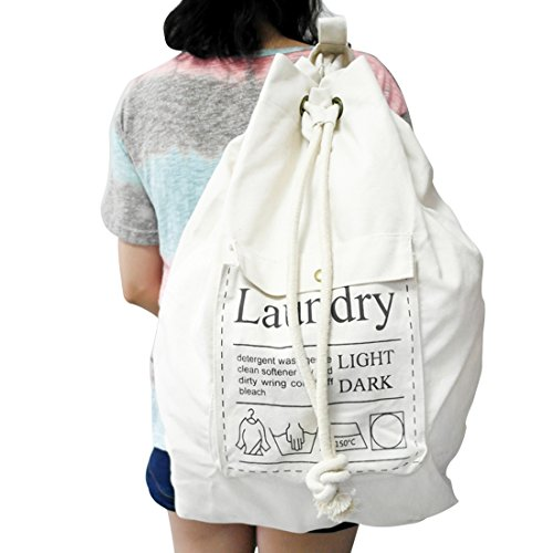 Industrial Canvas Laundry Bags - 5