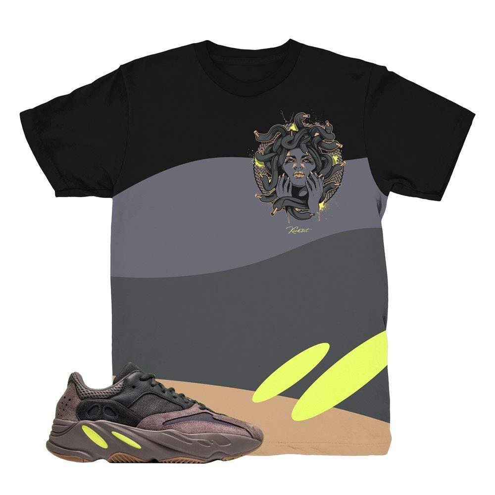new photos ee8d3 7b08d Amazon.com: Yeezy Boost 700 Mauve Medusa Waves Shirt to ...
