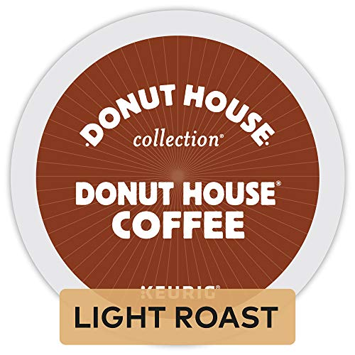 Donut House Collection Donut House Coffee Keurig Single-Serve K-Cup Pods, Light Roast, 72 Count (6 Boxes of 12 Pods) from Donut House Collection