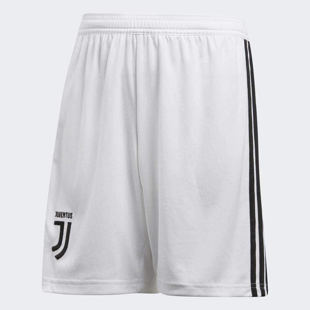 Adidas Juve H Sho Y Shorts (1/4) For Kids, (Size:176) White