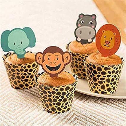 Best Design - 24 envoltorios para cupcakes con diseño de ...