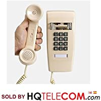 Industrial Wall Phone with Dialpad & Wallplate - ASH/BEIGE/IVORY by HQTelecom