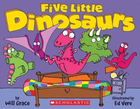 Five Little Dinosaurs by Cartwheel