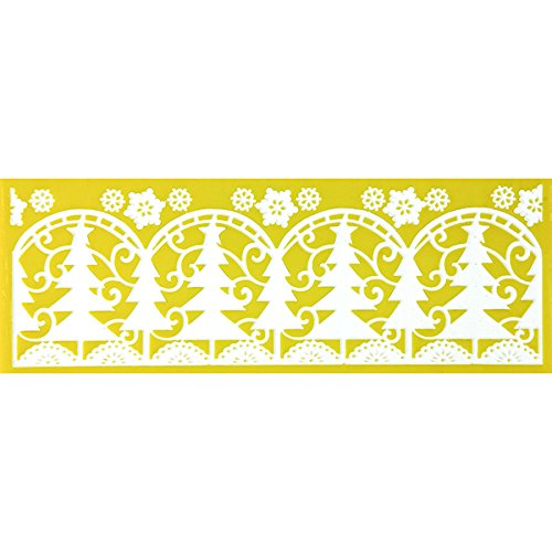 Winter Forest Silicone Lace Mat by Chef Alan Tetreault