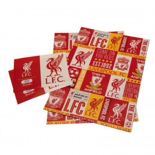 Liverpool Wrapping Paper Amazoncouk Sports Outdoors – Liverpool Fc Birthday Card