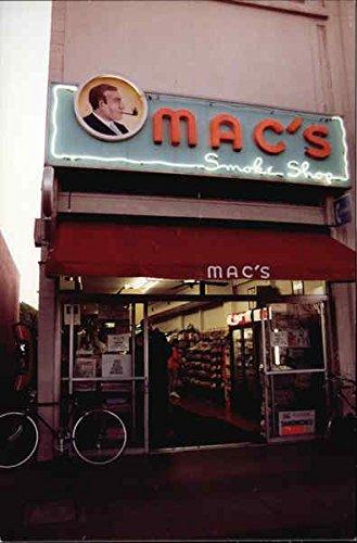 Alto Mac - Mac's Smoke Shop Palo Alto, California Original Vintage Postcard