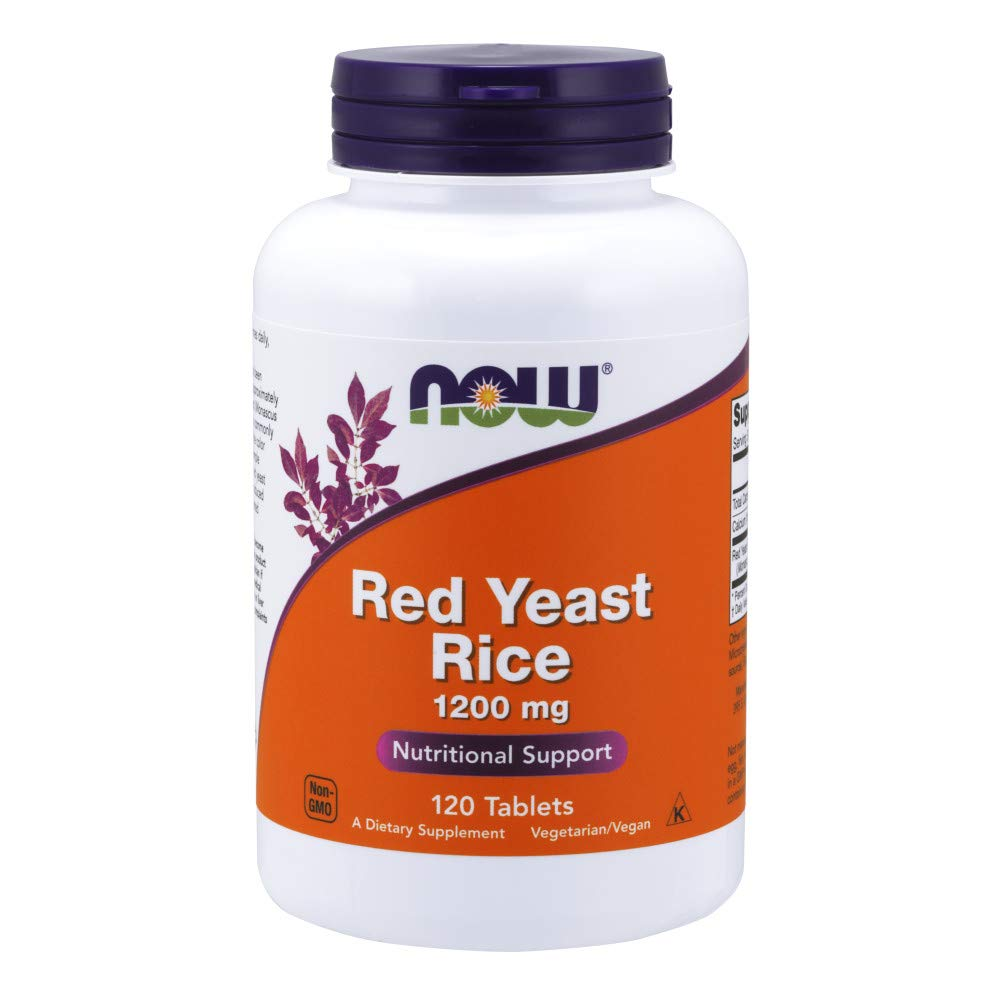 NOW® Red Yeast Rice, 1200 mg, 120 Tablets