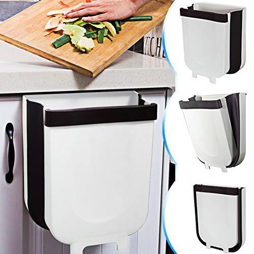 🥇 TTMOW Cubos de Basura Plegable Colgando para la Cocina