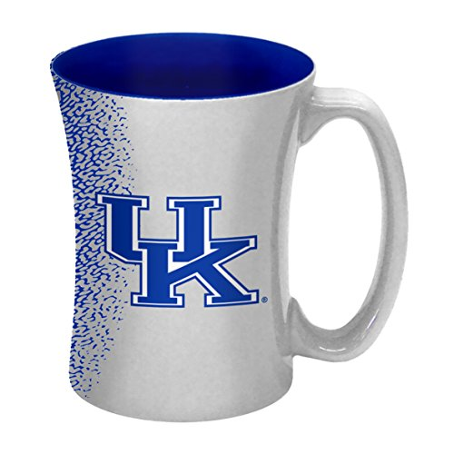 NCAA Kentucky Wildcats Sculpted Mocha Mug, 14-ounce