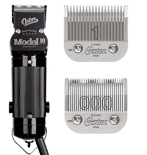 Oster Model 10 Classic Professional Barber Salon Pro Hair Grooming Clipper With blades Size 000 And 1. by Oster