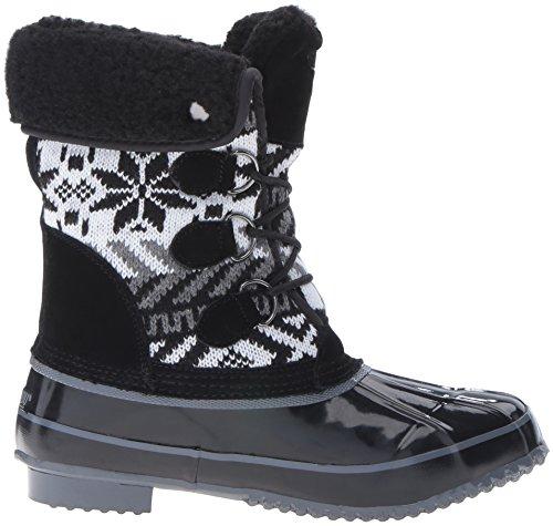 Khombu Dames Mayana Snowboot Zwart