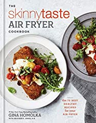 "From #1 New York Times bestselling author Gina Homolka comes the must-have air fryer cookbook, featuring 75 quick and easy recipes that deliver on Skinnytaste's signature ""light on calories, big on flavor"" promise. Gina Homolka is beloved for..."