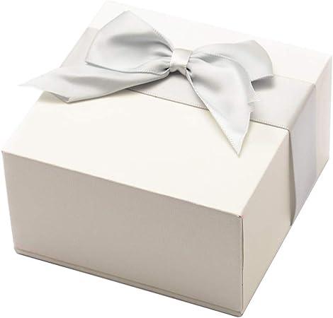 NBEADS - Caja de Regalo para Collares, Cajas de Regalo de Cartón, Cajas de Joyería de Cartón con Lazo para Collares, 8,7 X 8,7 X 5 Cm: Amazon.es: Hogar