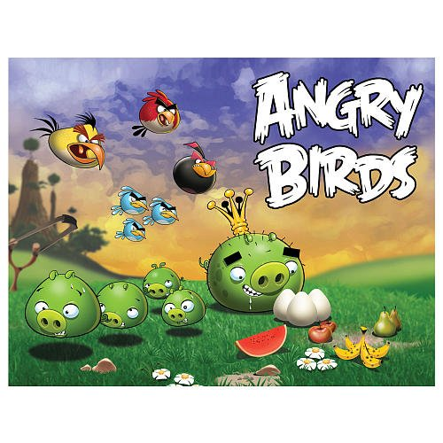 Mattel Angry Birds Puzzle Scene