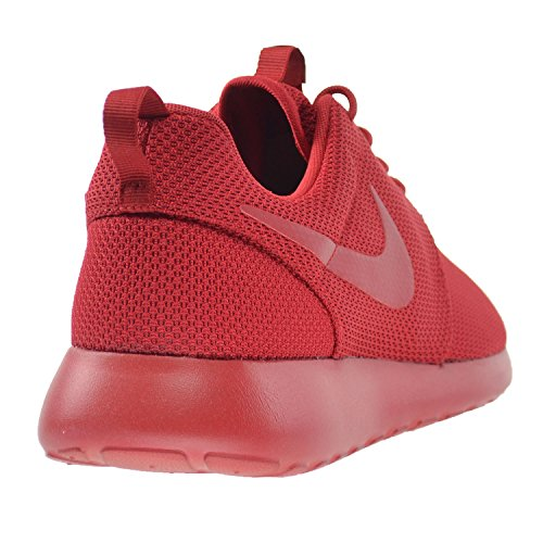 001 Rosherun Varsity White Grey Nike Print Men's Red 655206 wHq06Y