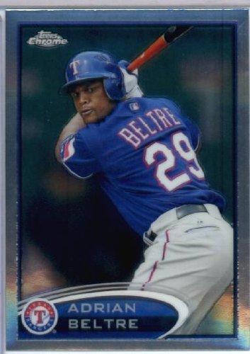 2012 Topps Chrome Baseball #132 Adrian Beltre Texas Rangers